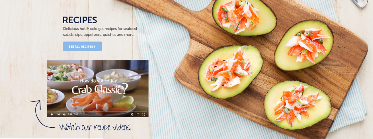 home page recipes trans ocean products