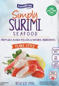 simply surimi flake style