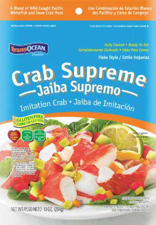 trans-ocean crab supreme flake