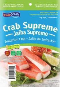 trans-ocean crab supreme leg
