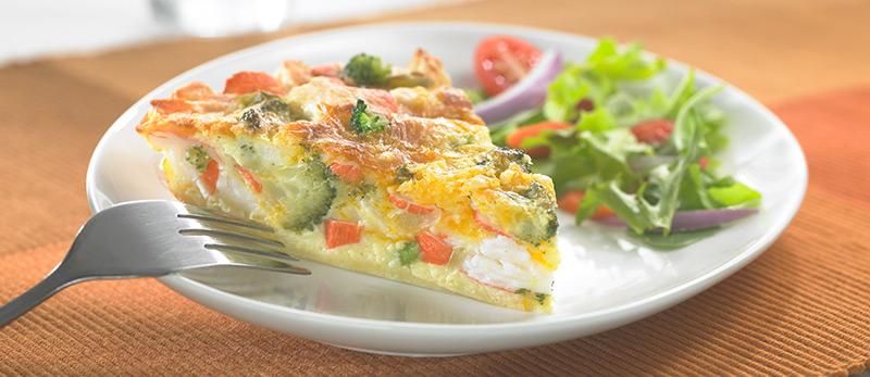 Crustless-Crab-Classic-&-Broccoli-Quiche
