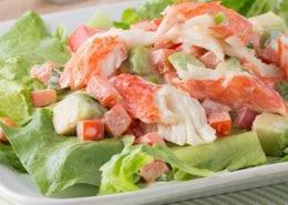 Crab Classic and Avocado Salad