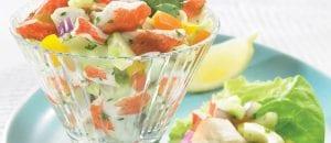 Crab Classic & Cucumber Salad