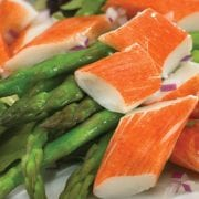 Crab Classic Salad with Asparagus