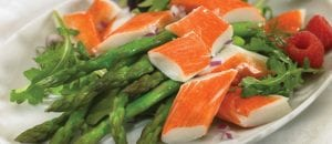 Crab Classic Salad with Asparagus
