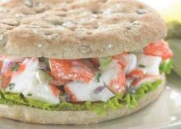 Crab Salad with Lemon & Parsley