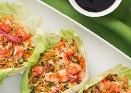 Asian Crab Classic Lettuce Cups