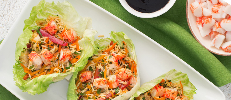 Asian Crab Classic Lettuce Cups
