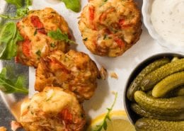 Crab Classic Fritters