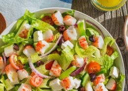 Crab Classic Greek Salad