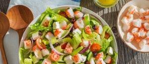 Crab Classic Greek Salad