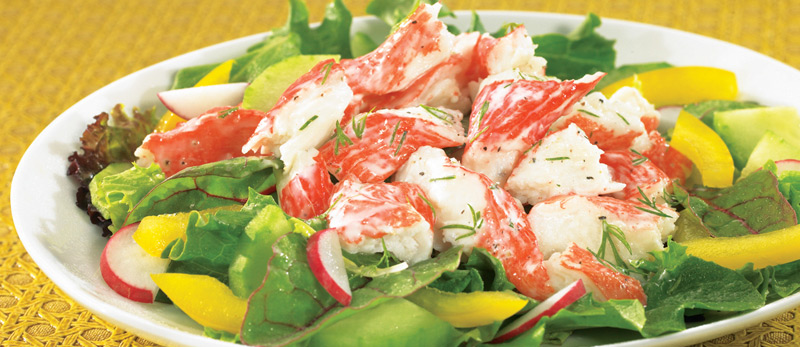 Really Simple Seafood Salad