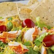 Crab Classic Taco Salad