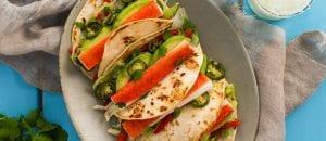 Quick Crab Classic Tacos