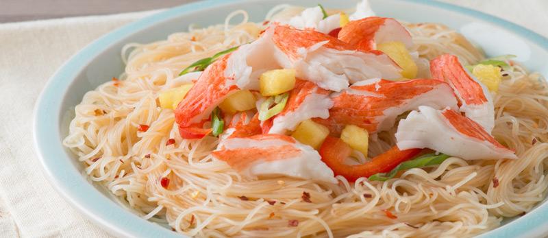 Thai Crab Classic Noodle Salad
