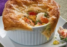 Mini Crab Classic Pot Pies