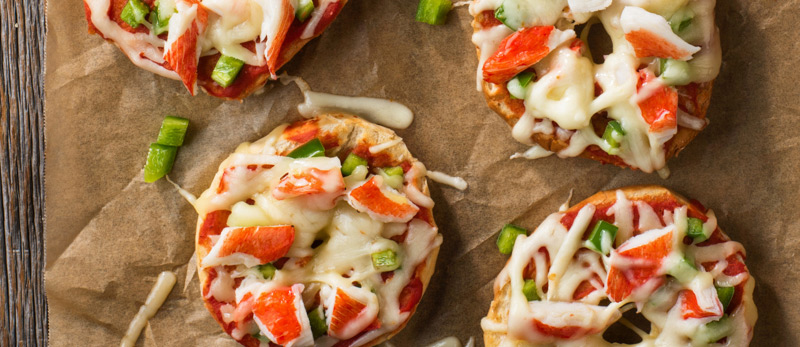Crab-Classic-Pizza-Bagel