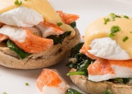 Crab-Classic-and-Spinach-Eggs-Benedict