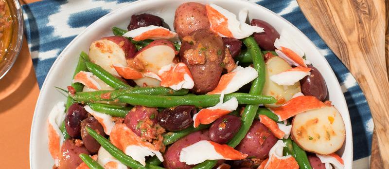 Easy-No-Mayo-Crab-Salad