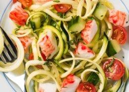 Spiralized-Zucchini-Salad-with-Crab-Classic