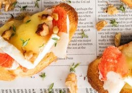 Crab-Walnut-and-Brie-Crostini